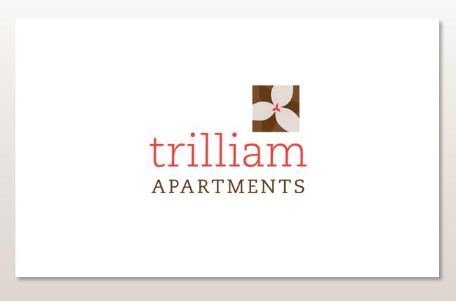 Melisa polazzi graphic design for Apartment name design