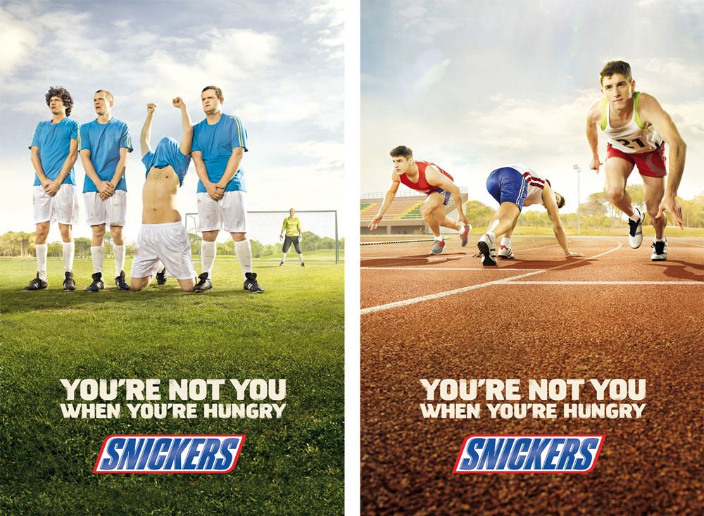 snickers brand awareness