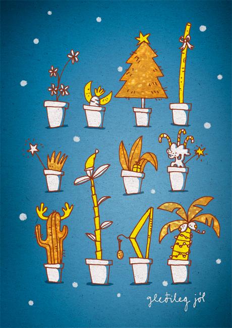 Unicef Christmas Cards Hallmark byKaterina Mertikas Glitter IceSkating Painting.